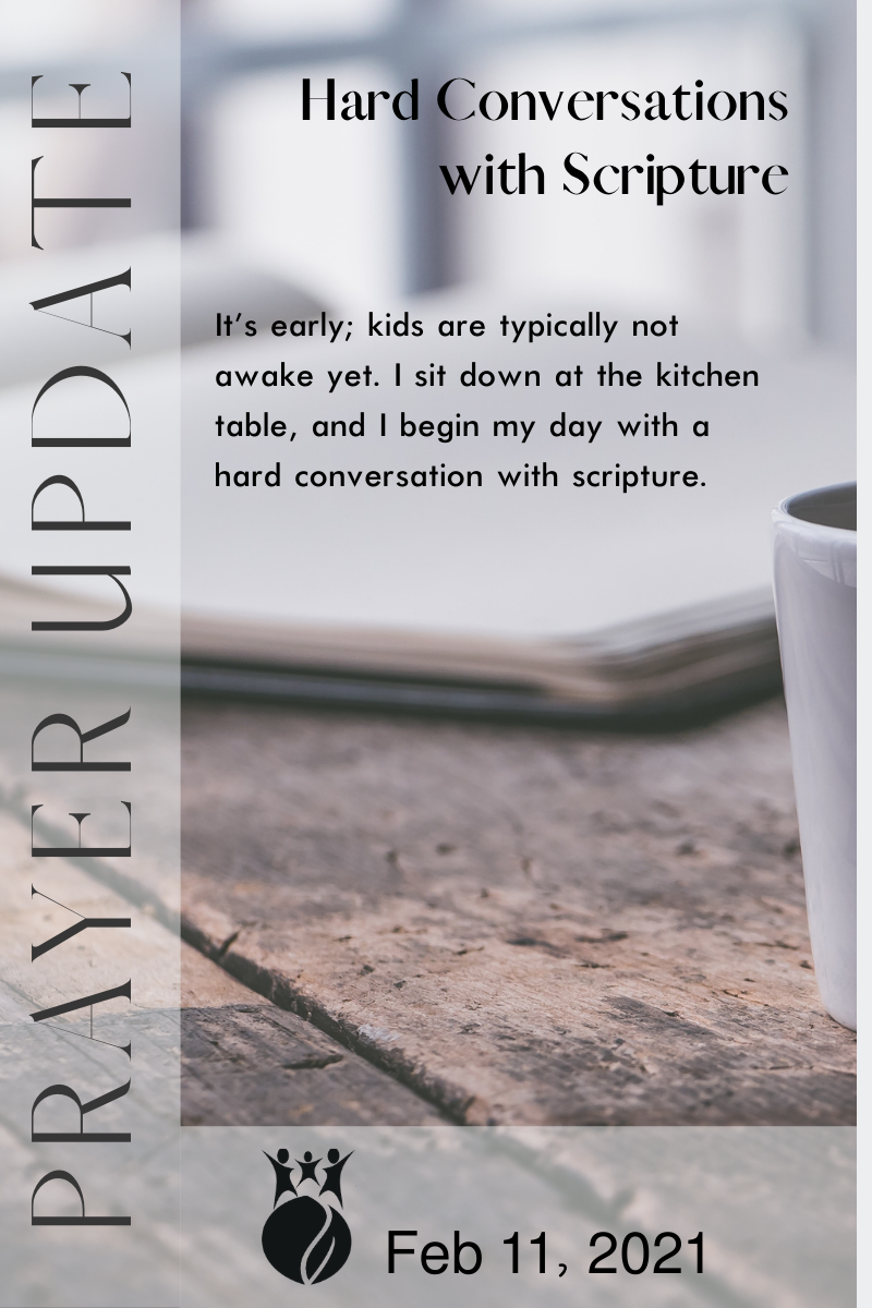 Hard Conversations with Scripture