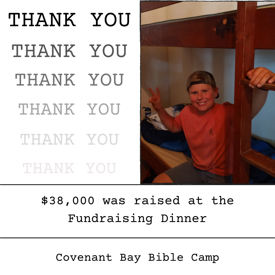Thank You Fundraising Dinner